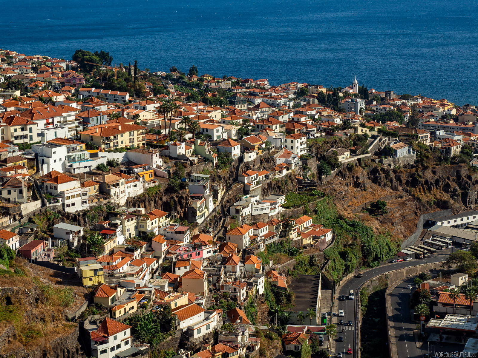 Funchal from the bird's eye view