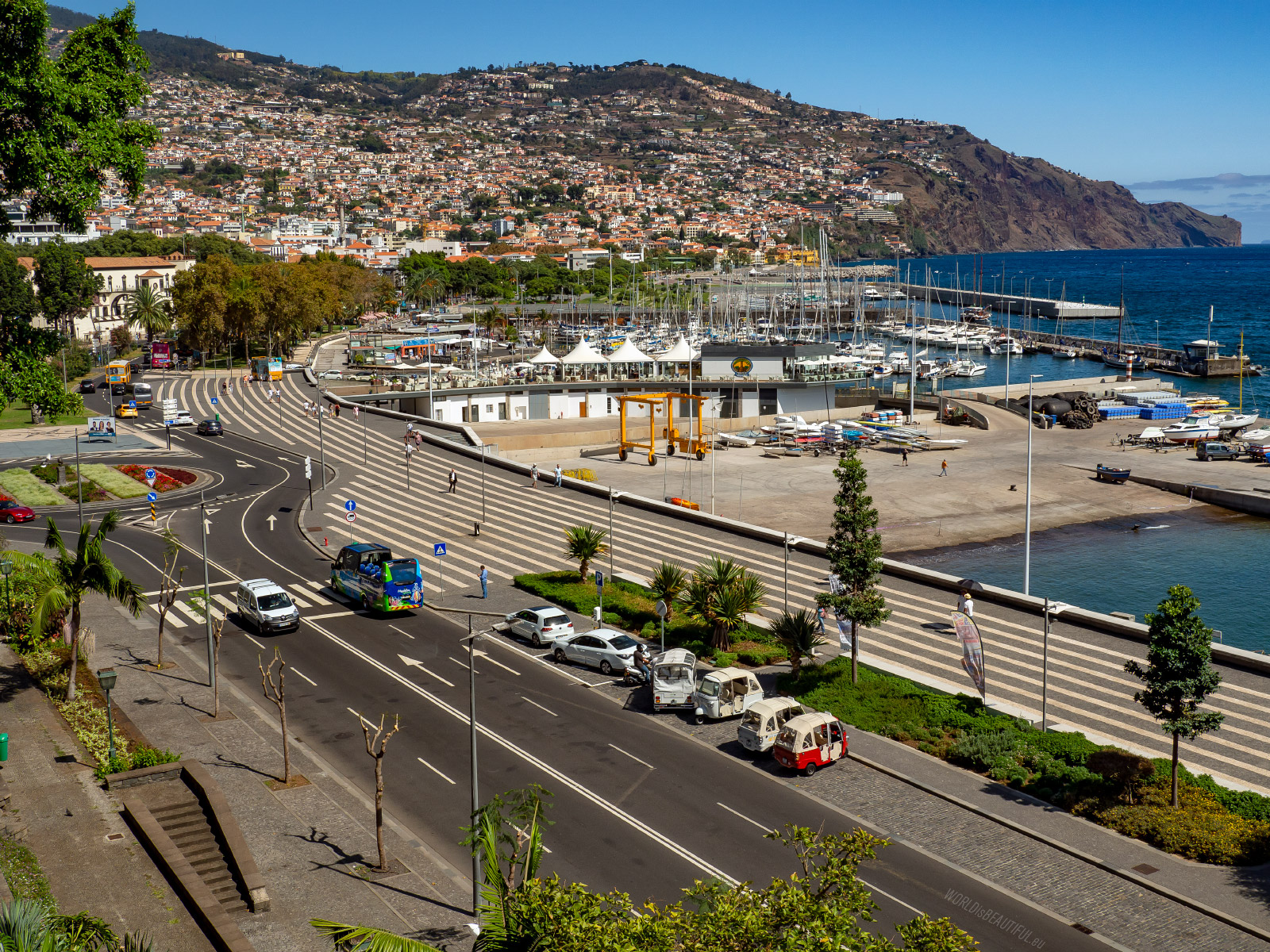 Port i Marina w Funchal