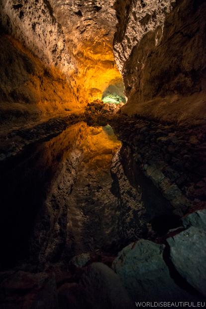 Lanzarote, Cueva de los Verdes