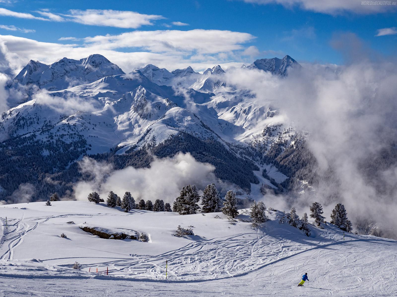 Stoki narciarskie w Zillertal Arena