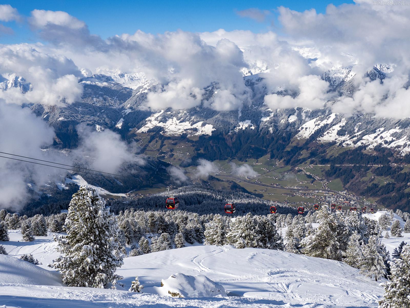 Zillertal Arena ski station