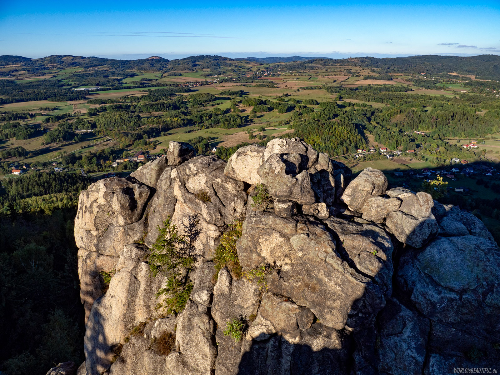 Rocks in Landeshut Ridge