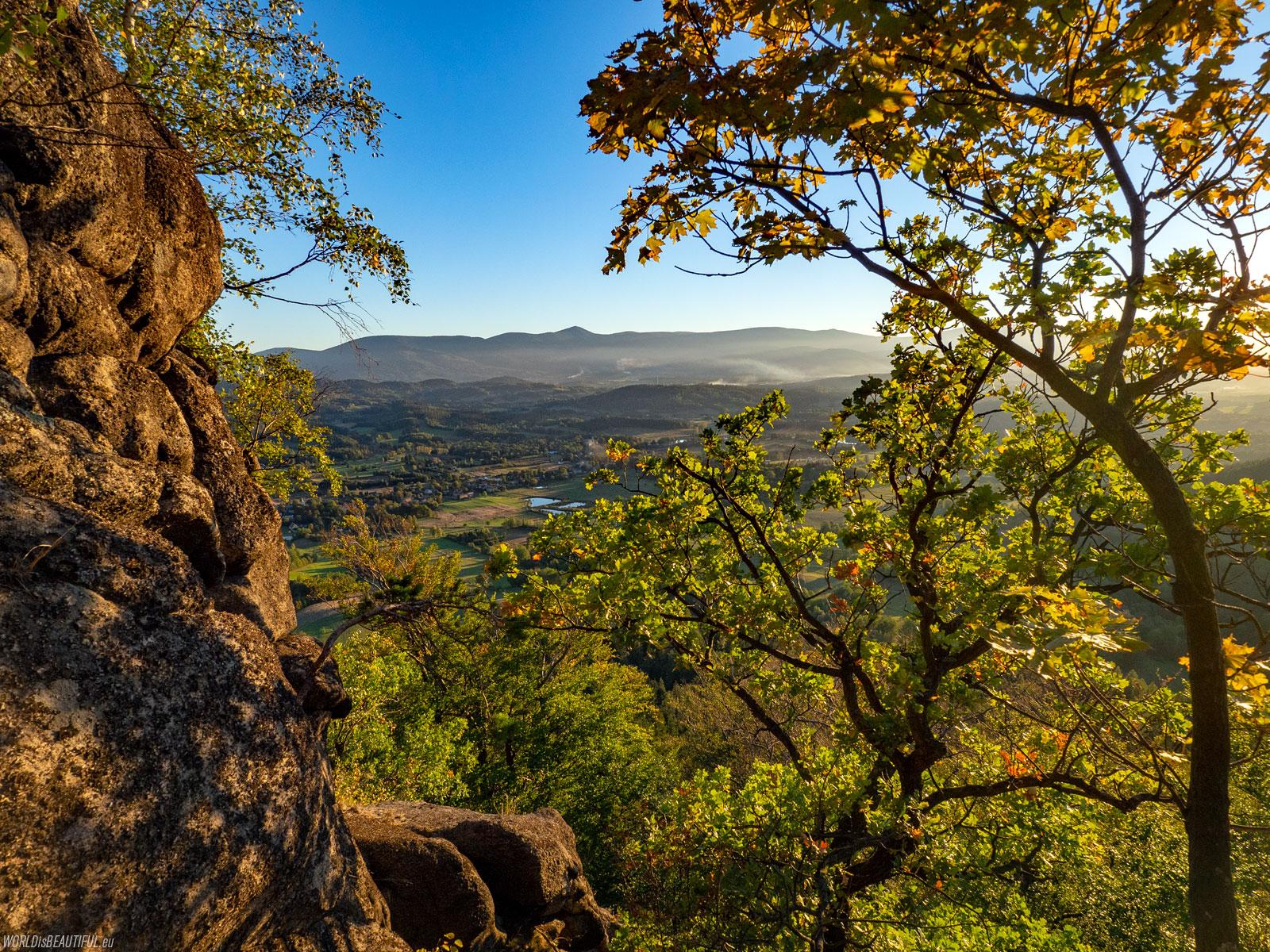 View of Mount Sniezka