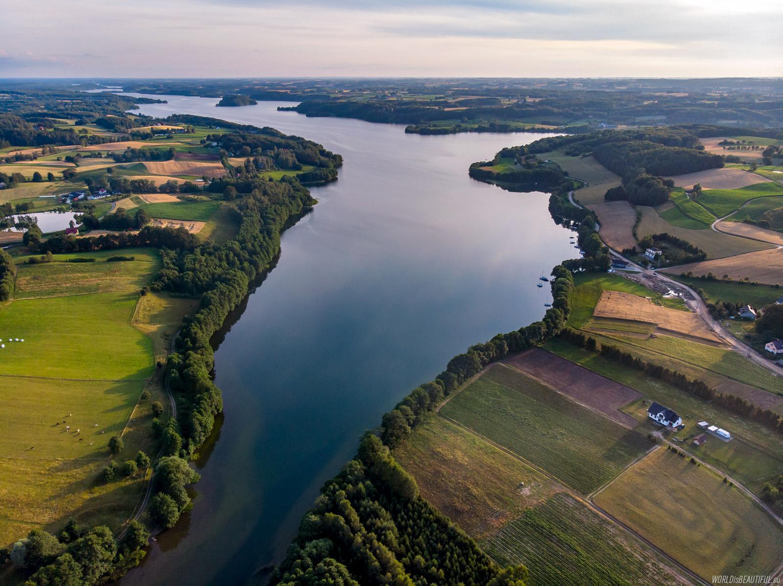 Widok na Jezioro Raduńskie