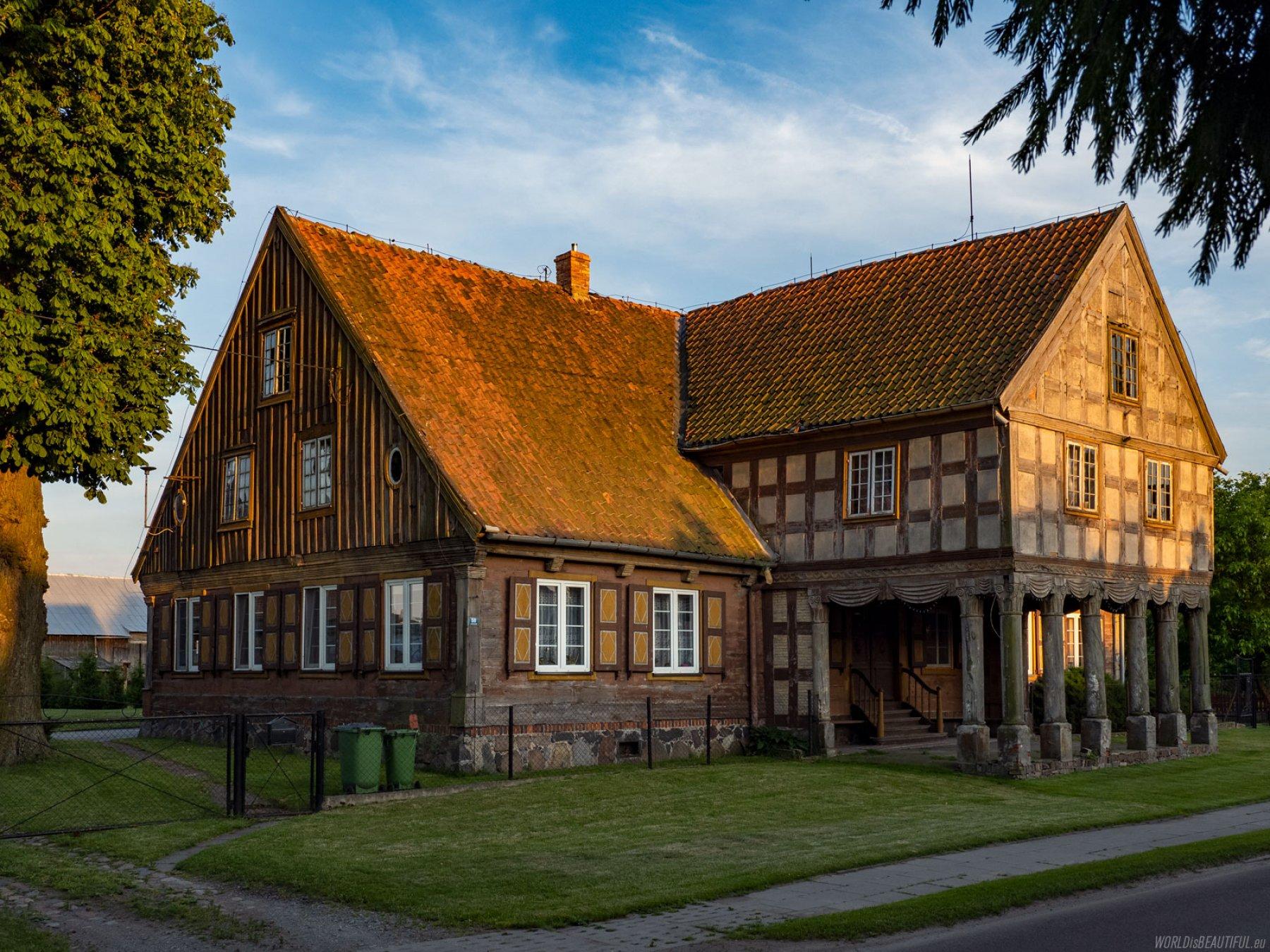 Rural architecture of Żuławy