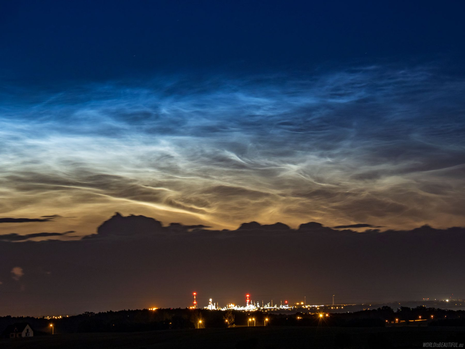 Noctilucent clouds - NLC