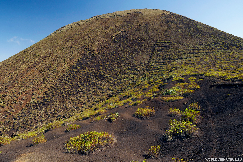 Volcan la Corona, Lanzarote