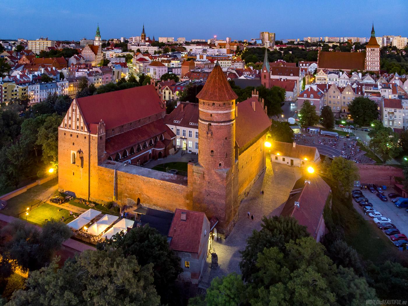 The Olsztyn castle