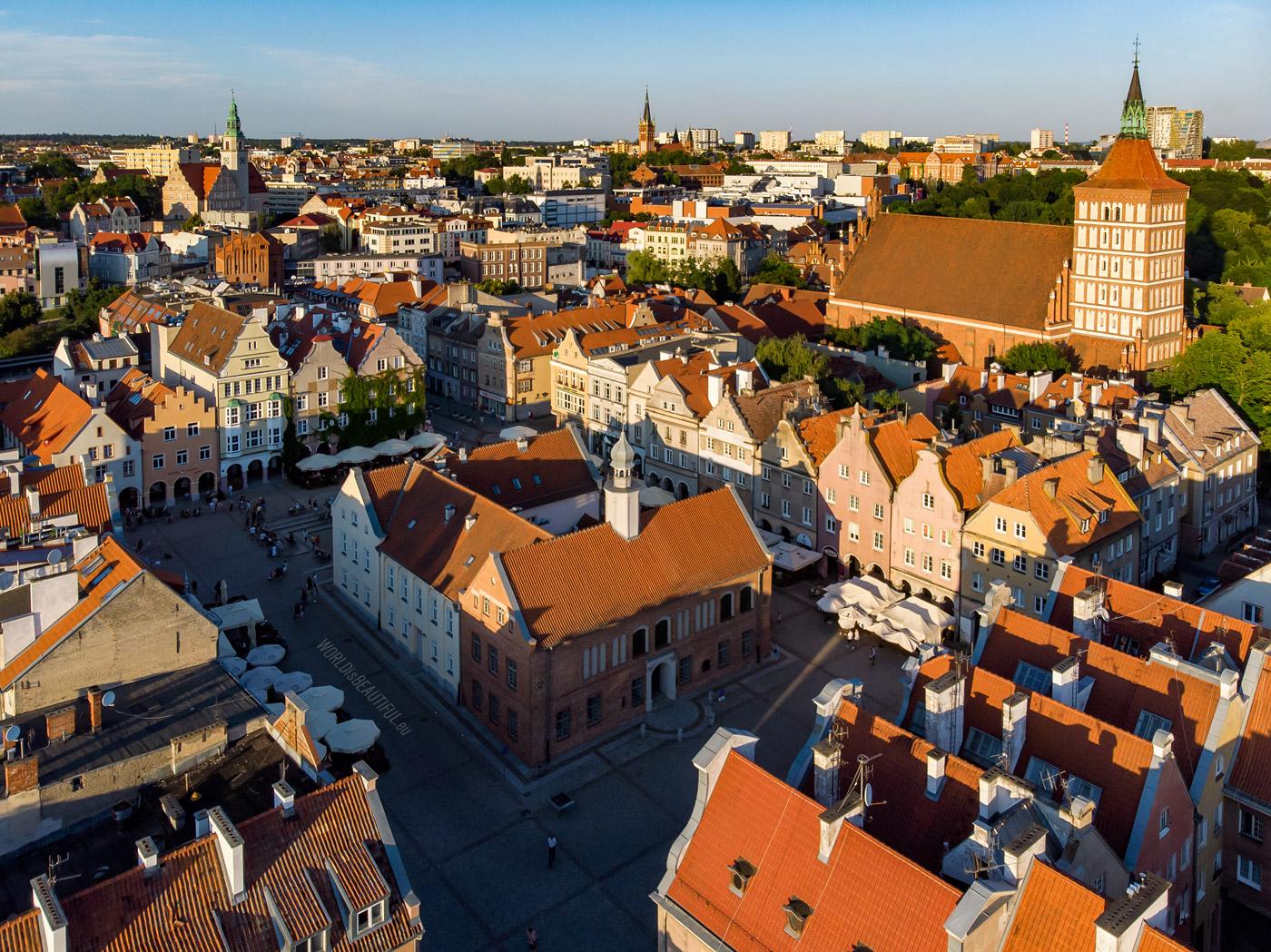 Olsztyn - centrum miasta