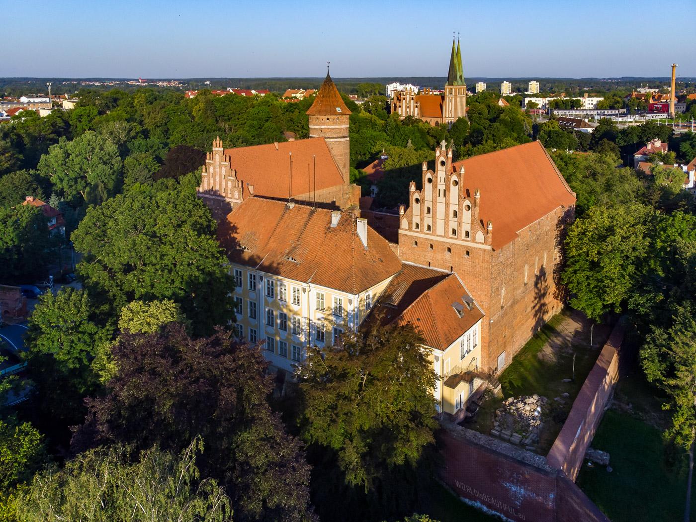 Warmian Bishops' Castle in Olsztyn