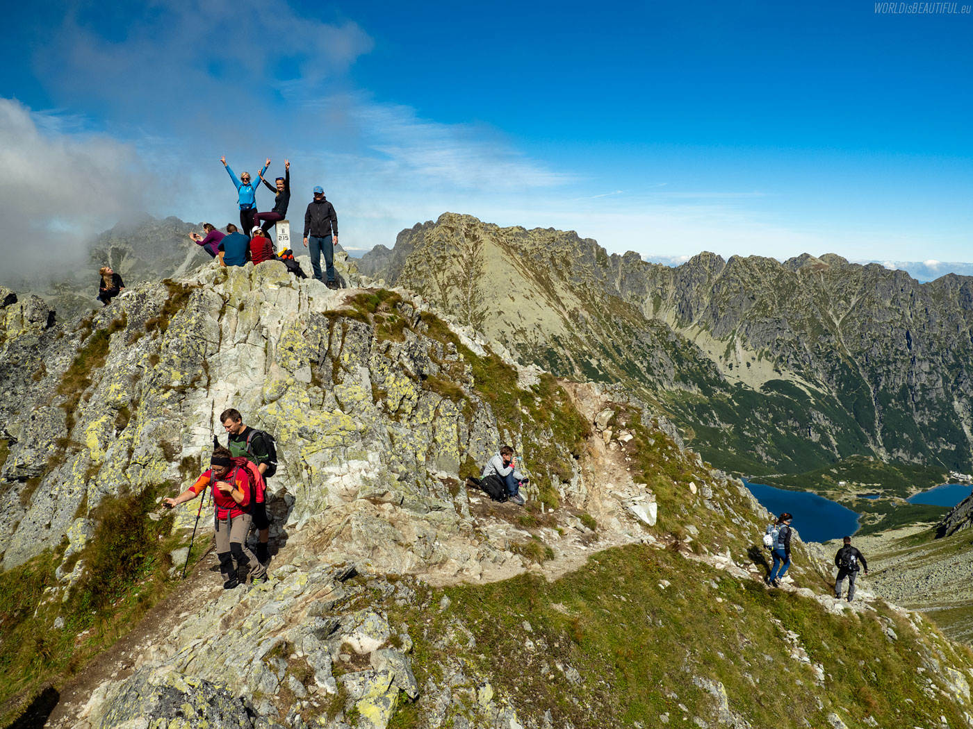 Szpiglasowy Wierch 2172 m - szczyt