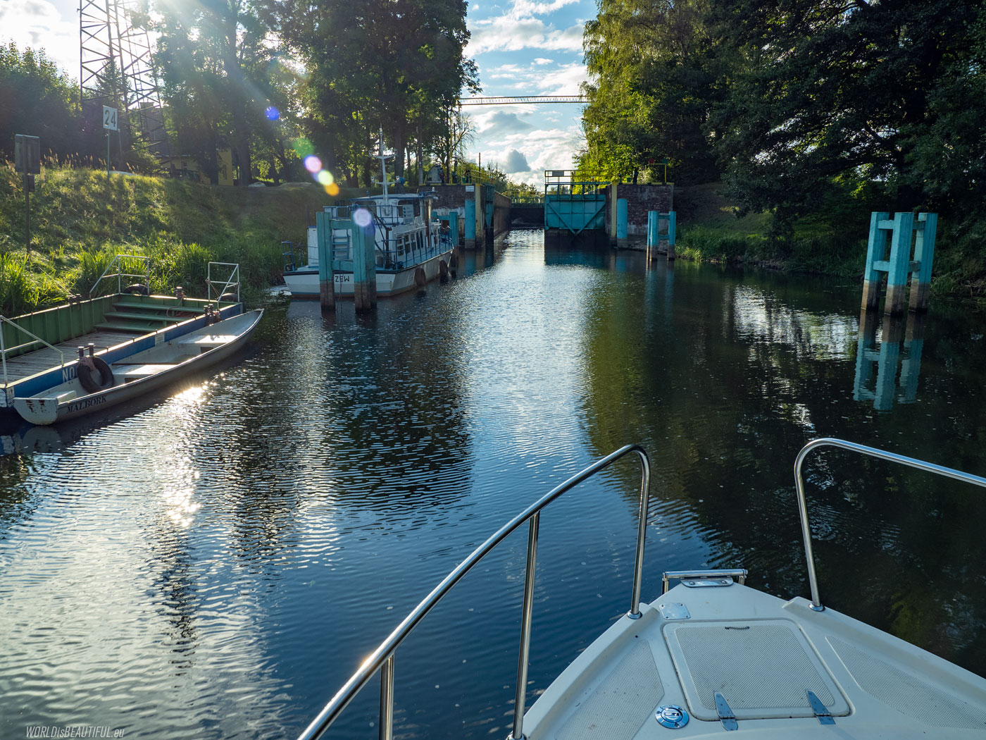 Lock on the River Nogat
