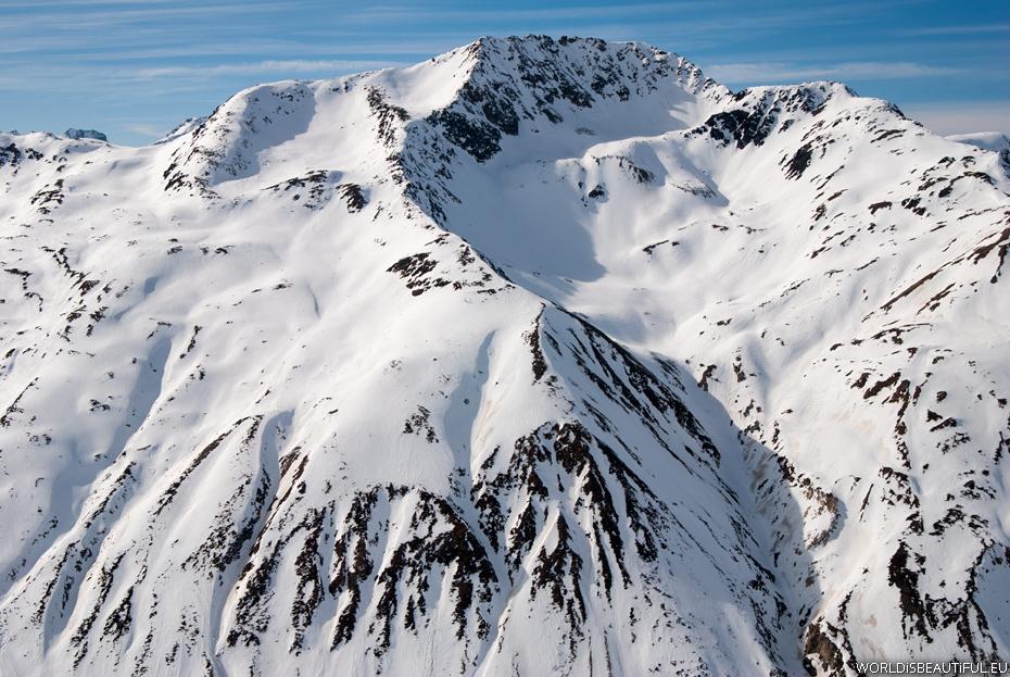 Śnieg w Alpach