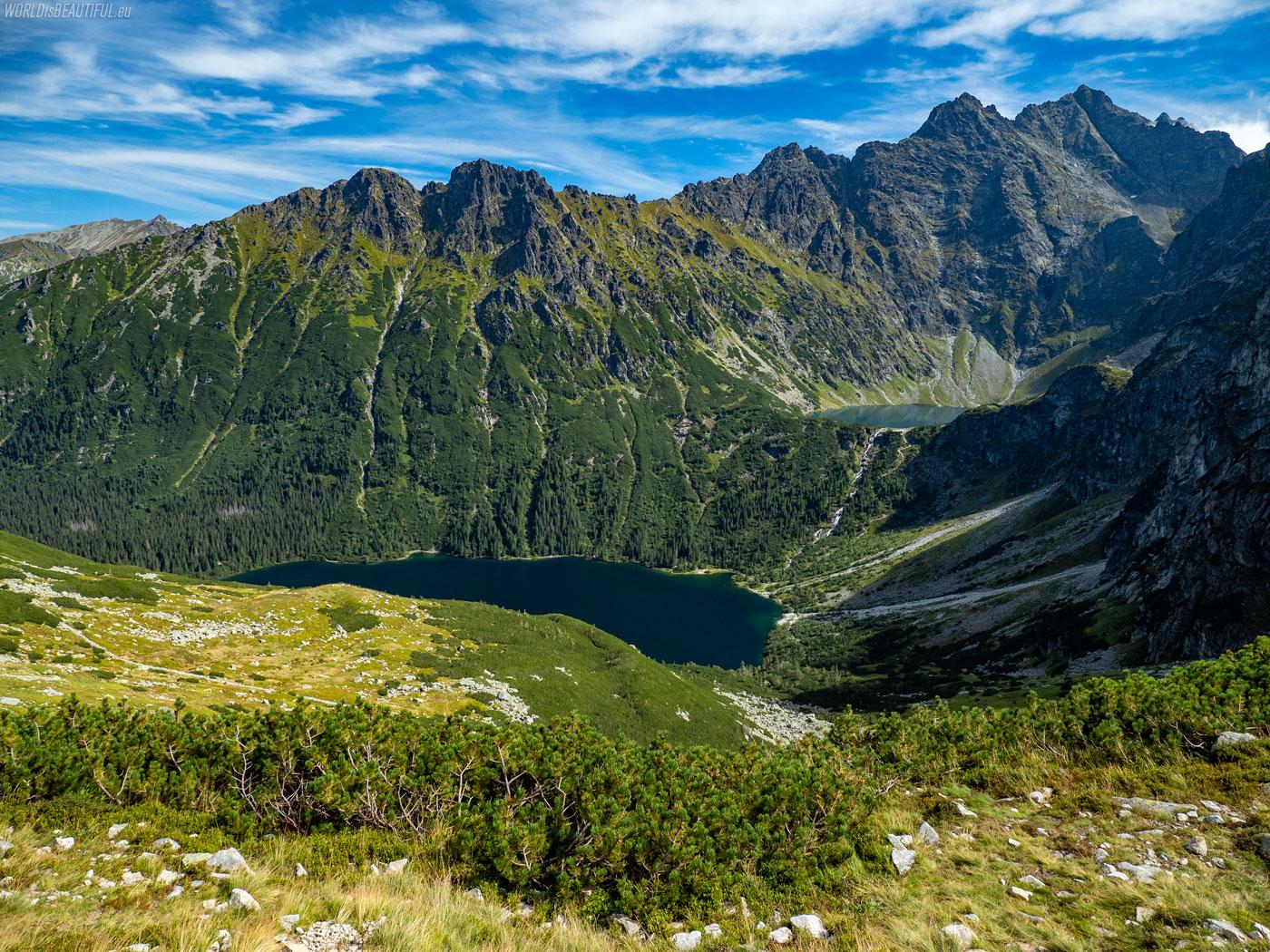 Trail from Morskie Oko to Szpiglasowy Wierch