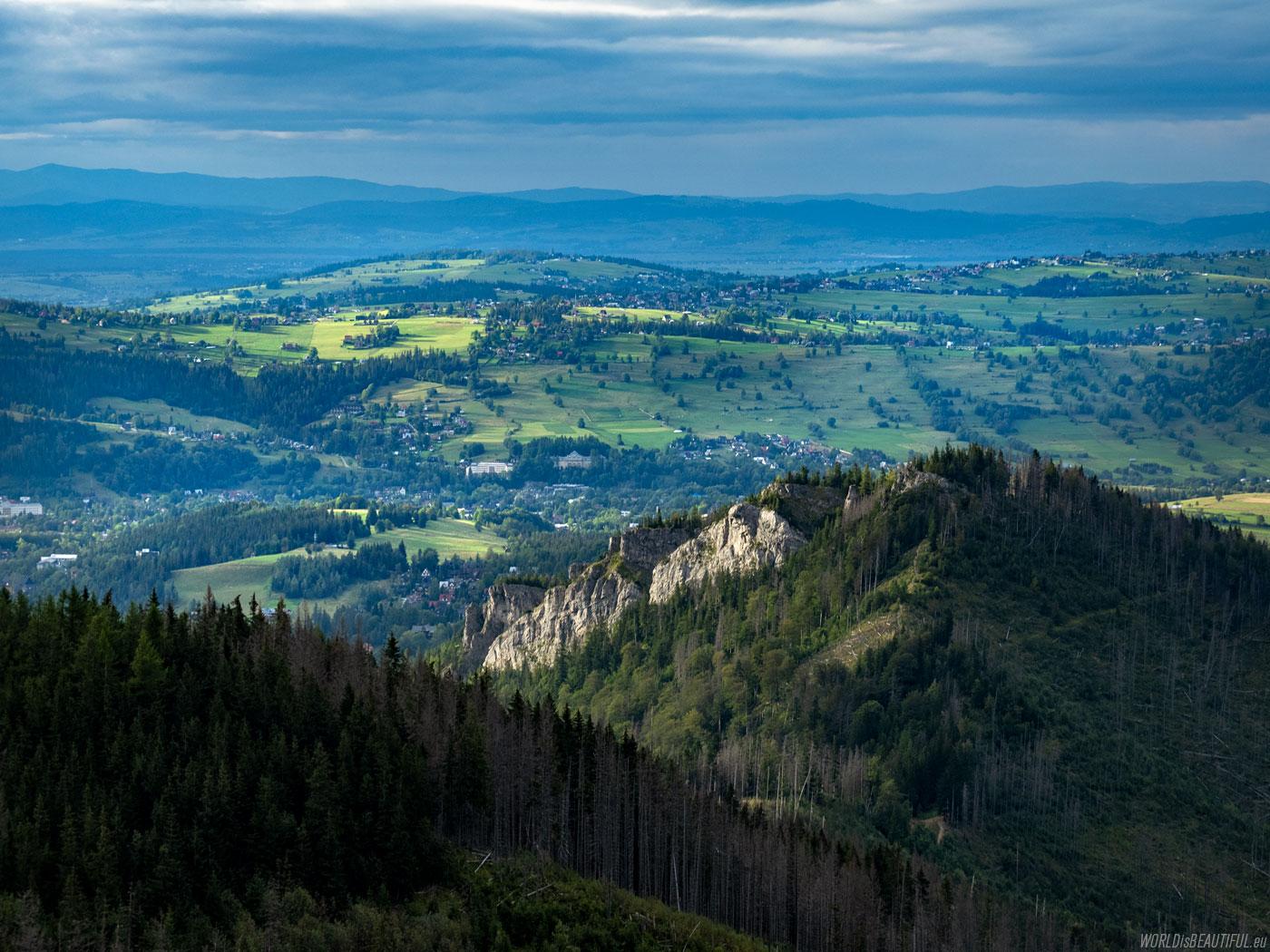 Nosal - mountain landscape