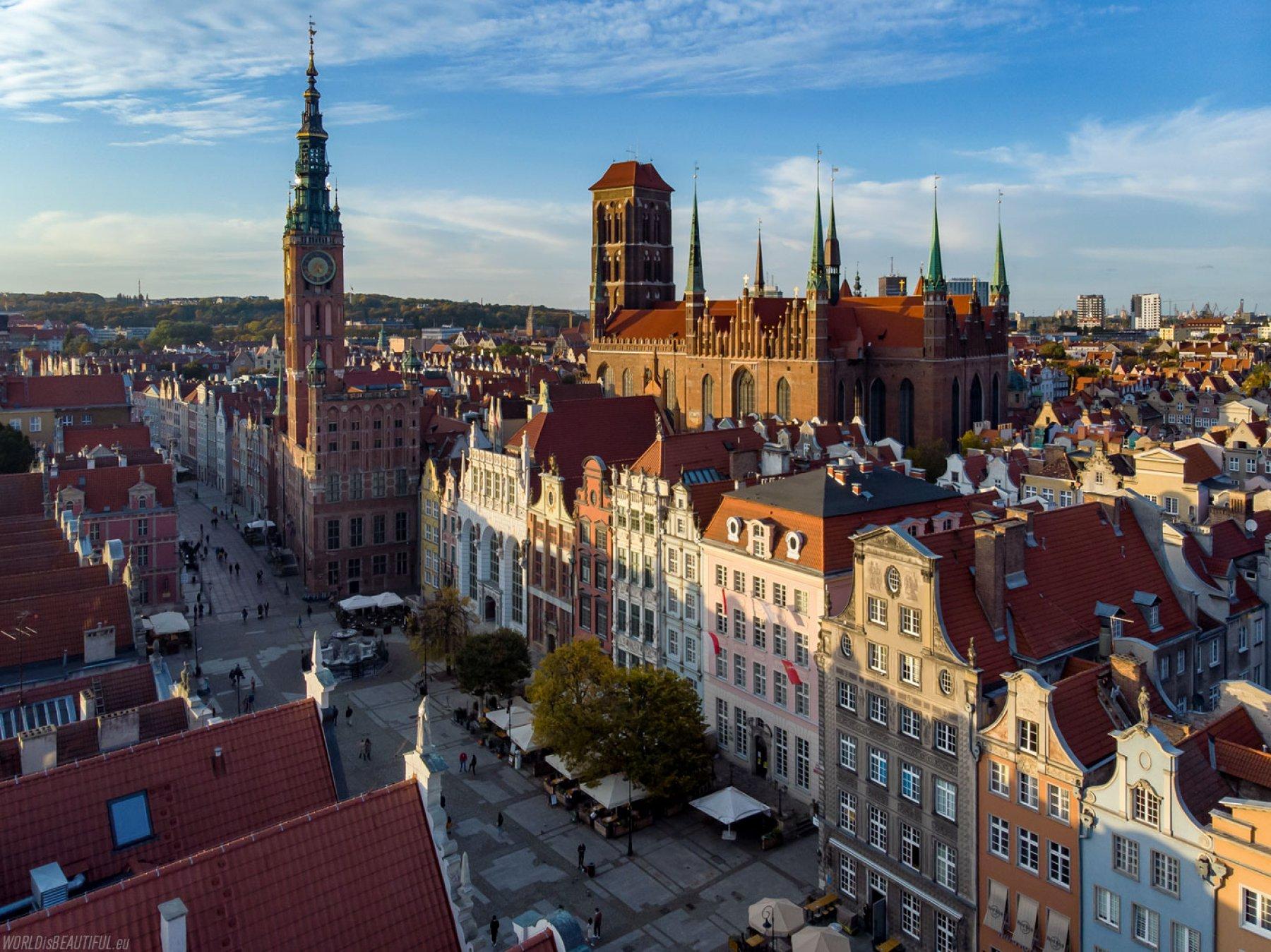 Gdańsk - photos for calendars