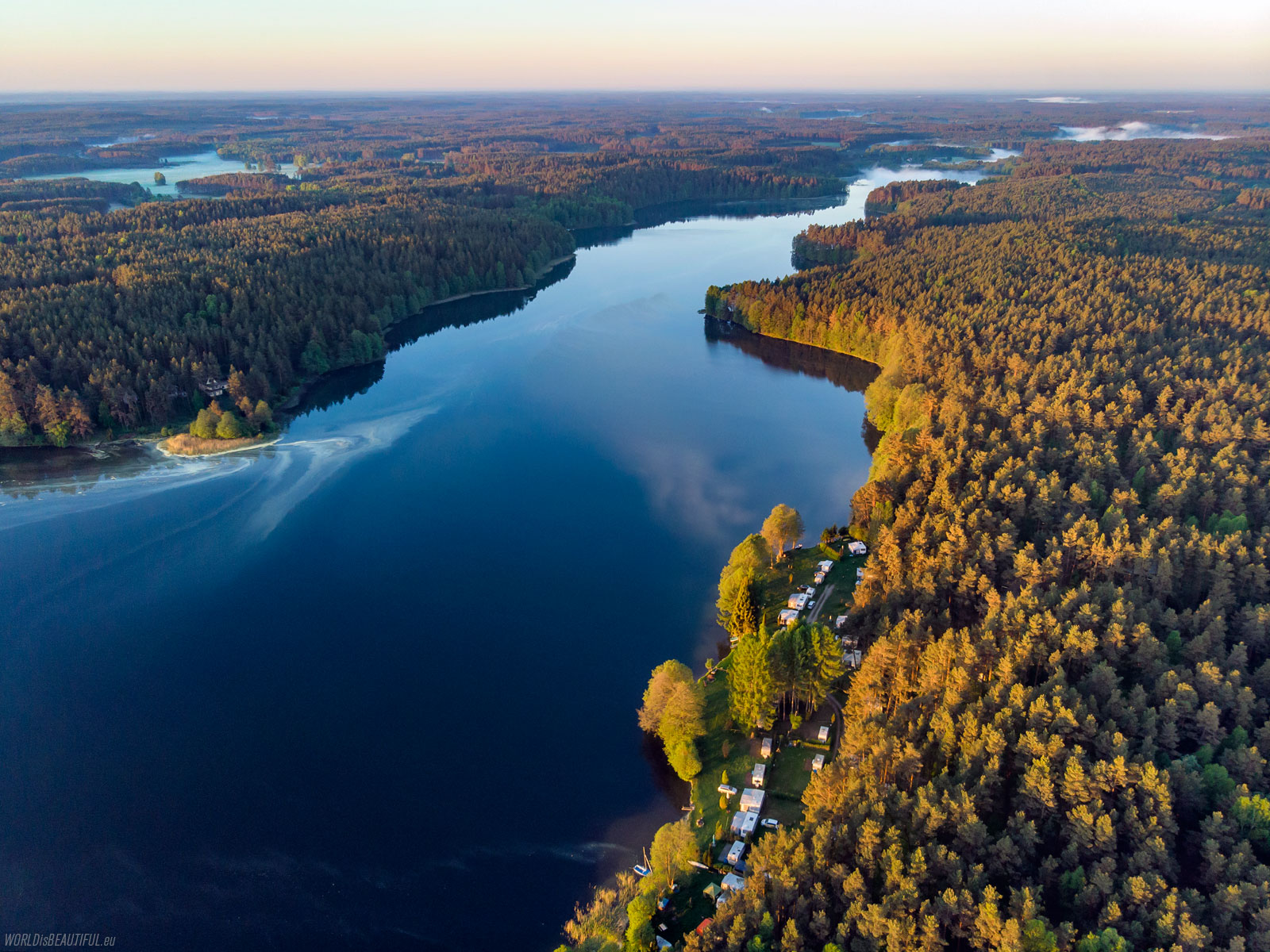 Jeziora w Borach Tucholskich