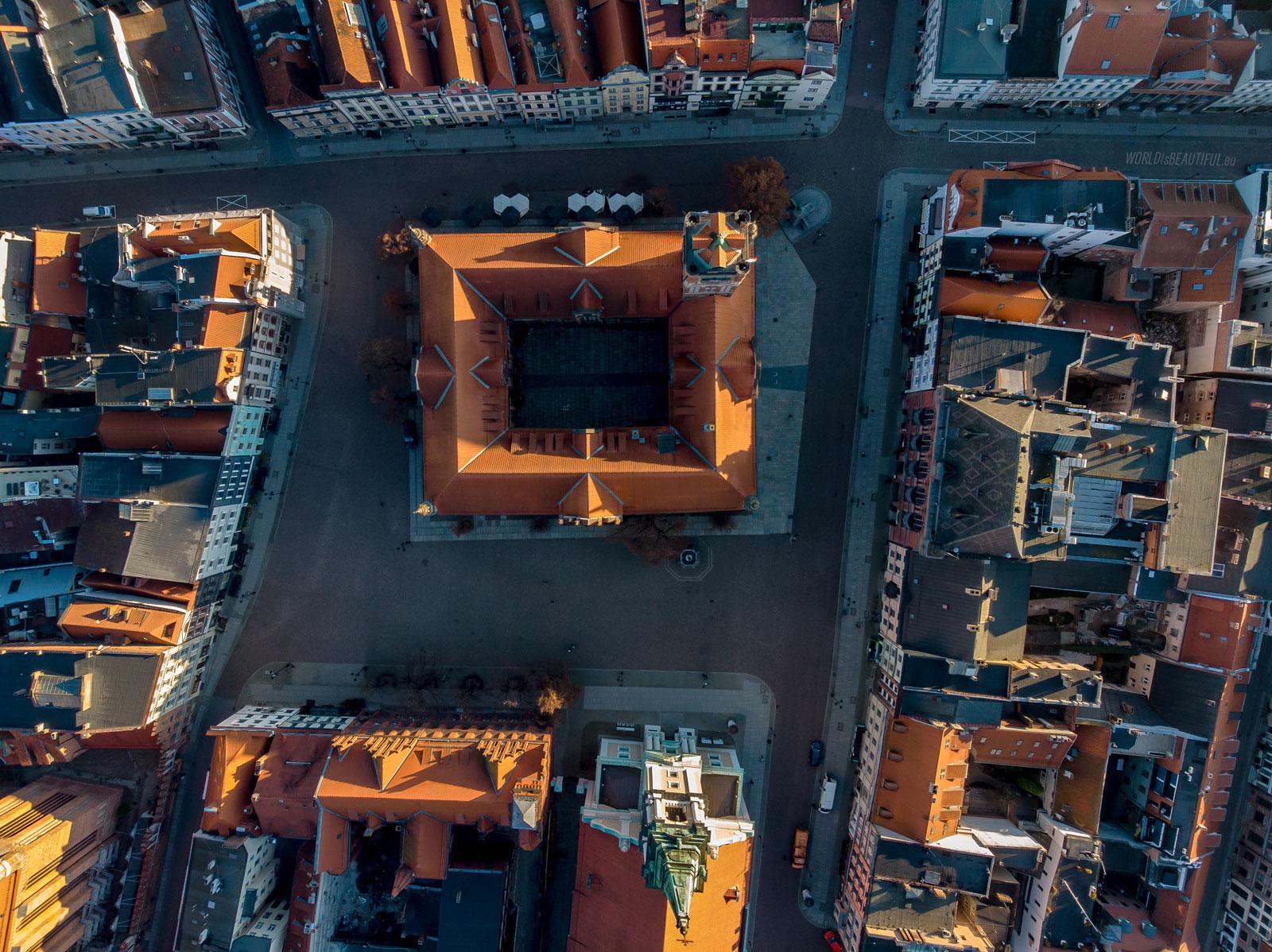 Old Town Square in Toruń
