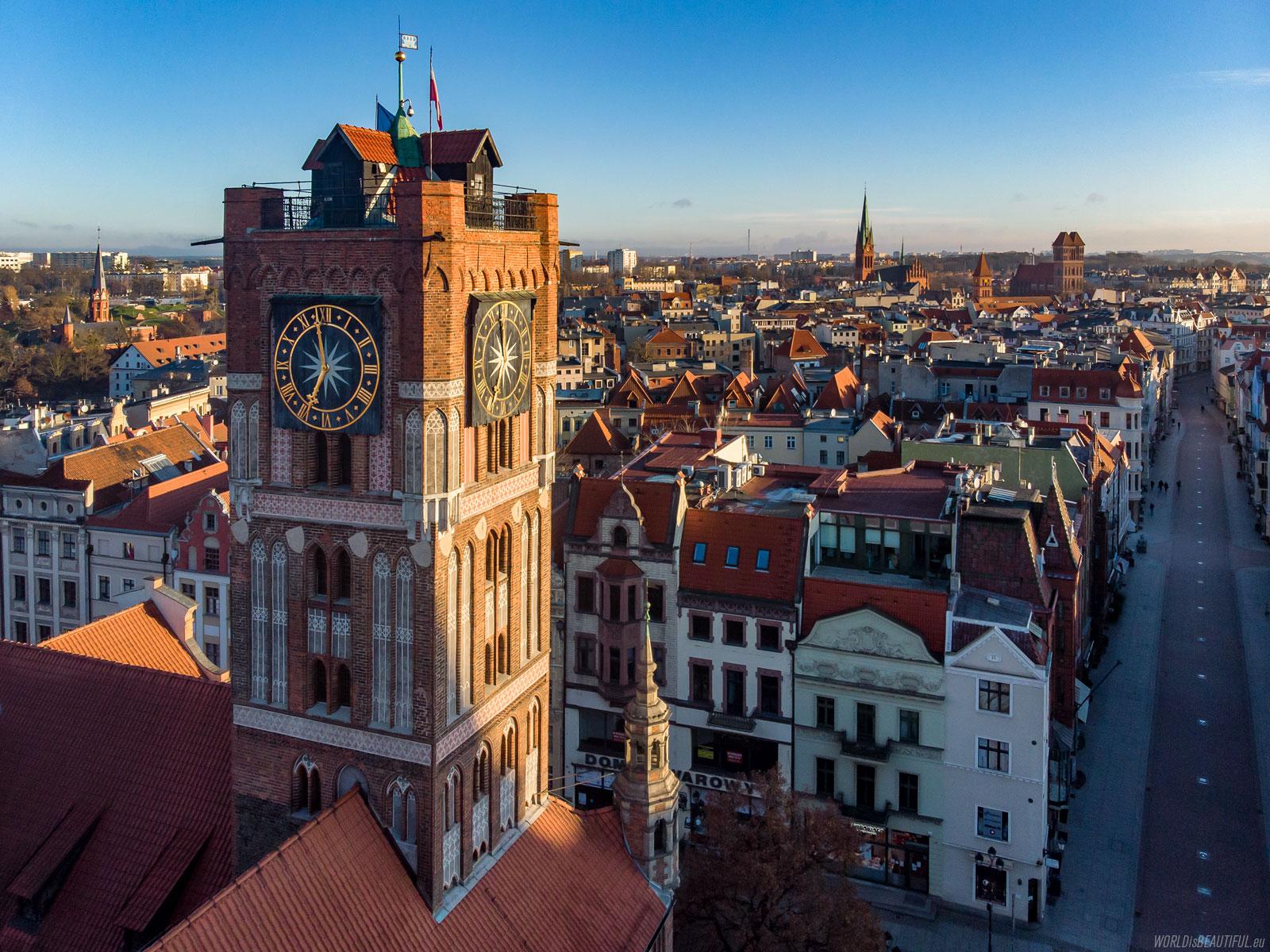 Toruń - the city center