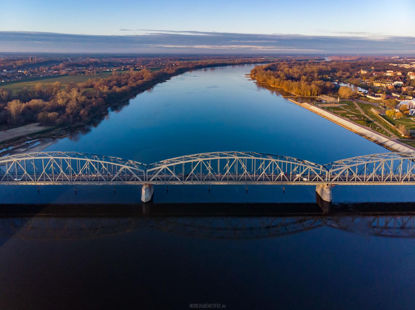 Bridge over the Vistula River in Toruń