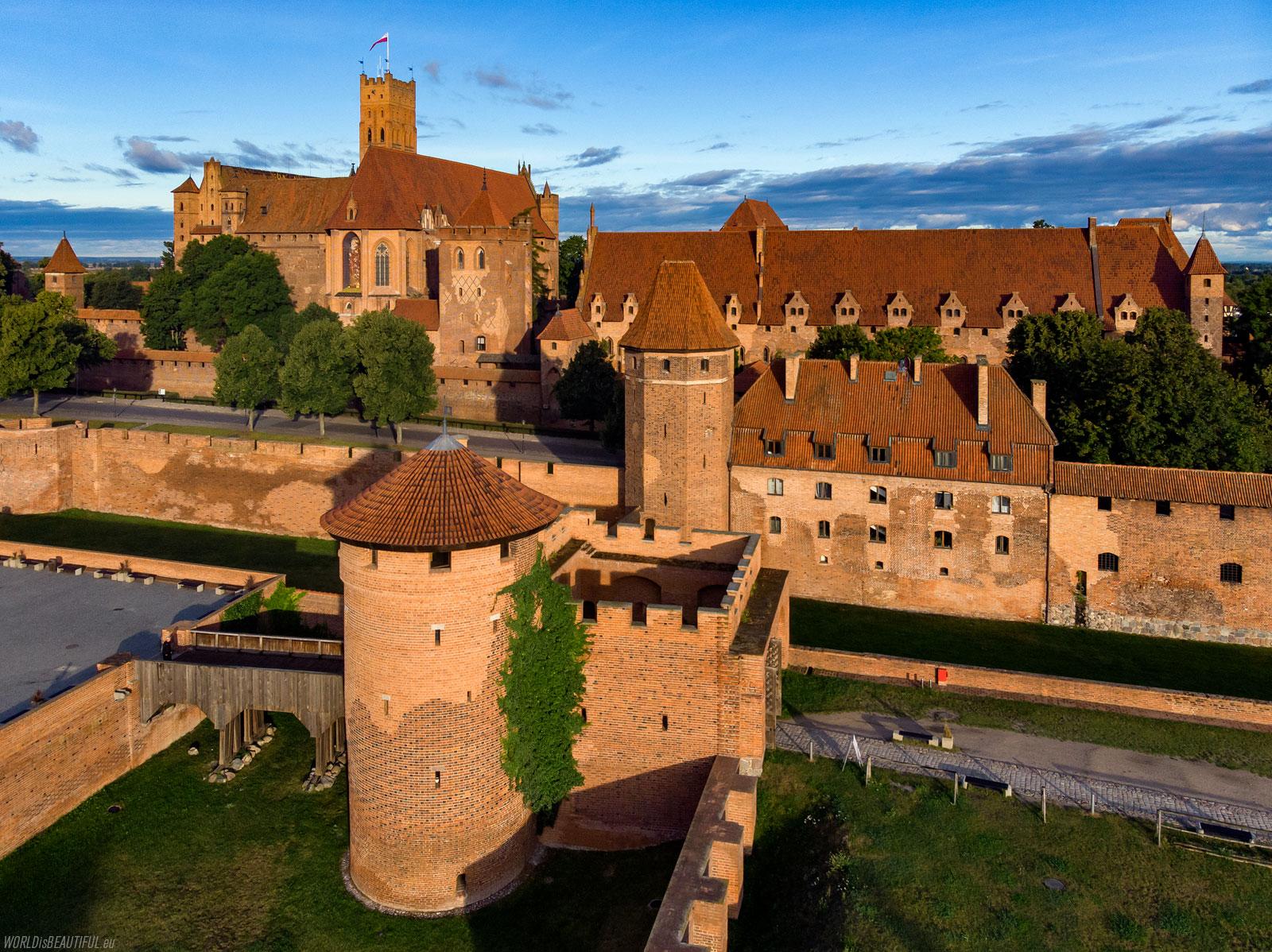 Castle museum in Malbork