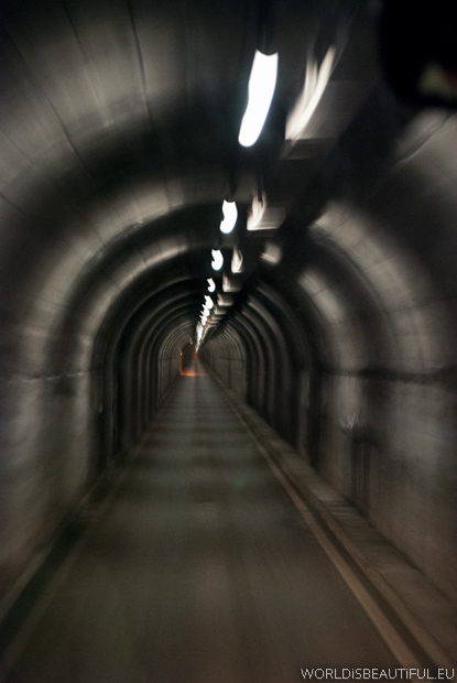 The tunnel to Livigno