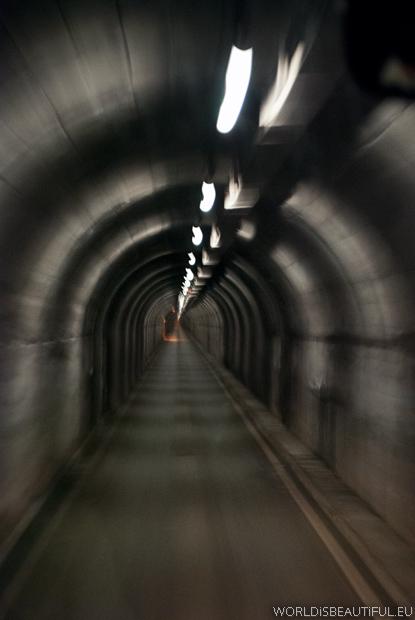 The tunnel to Livigno
