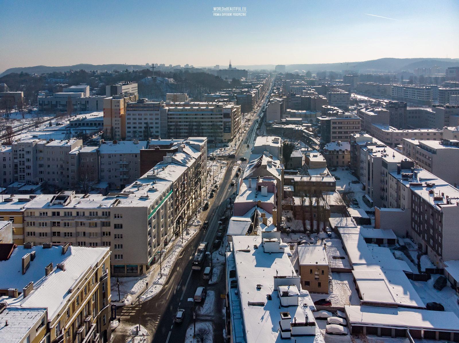Świętojańska Street in Gdynia
