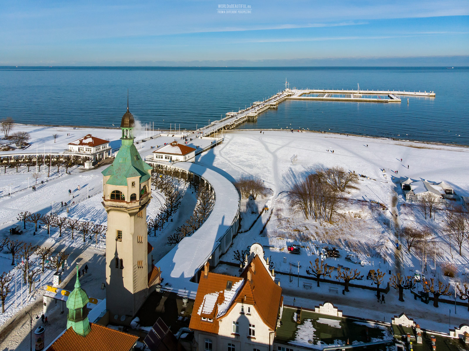 Zimowy Sopot
