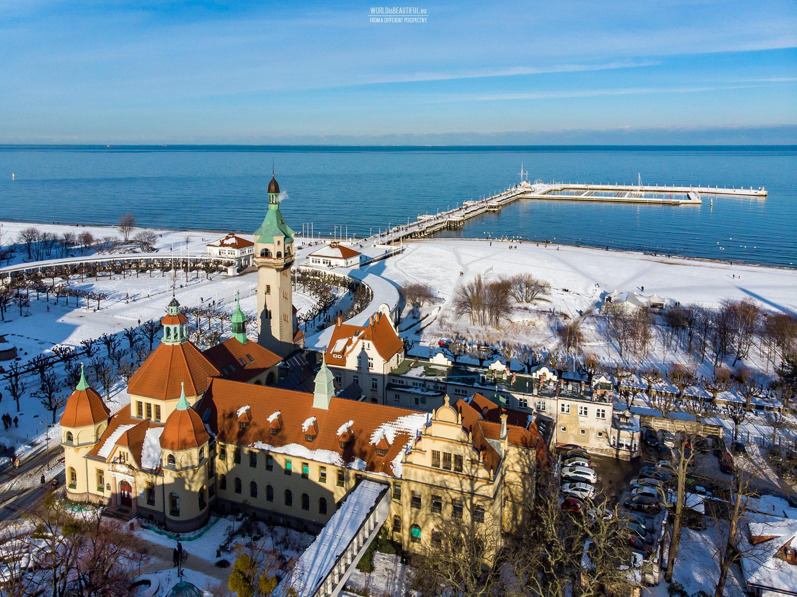 Latarnia Morska i molo w Sopocie