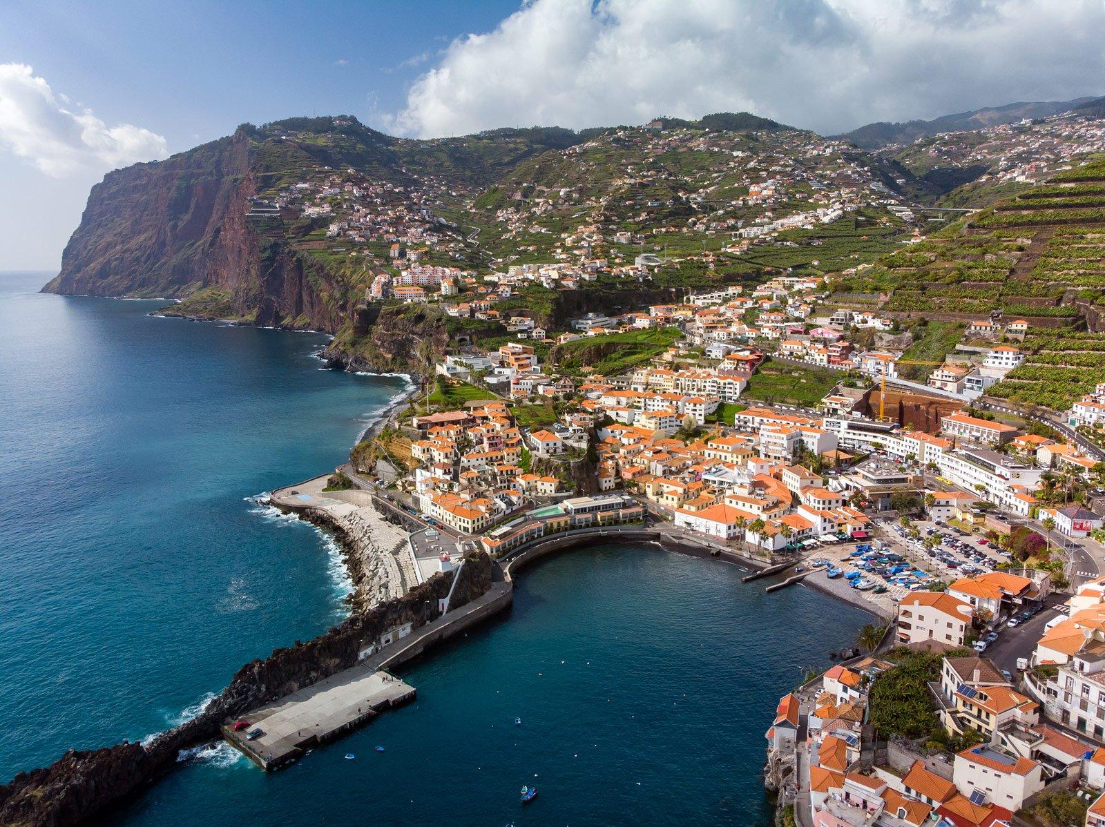 Południowe wybrzeże Madery