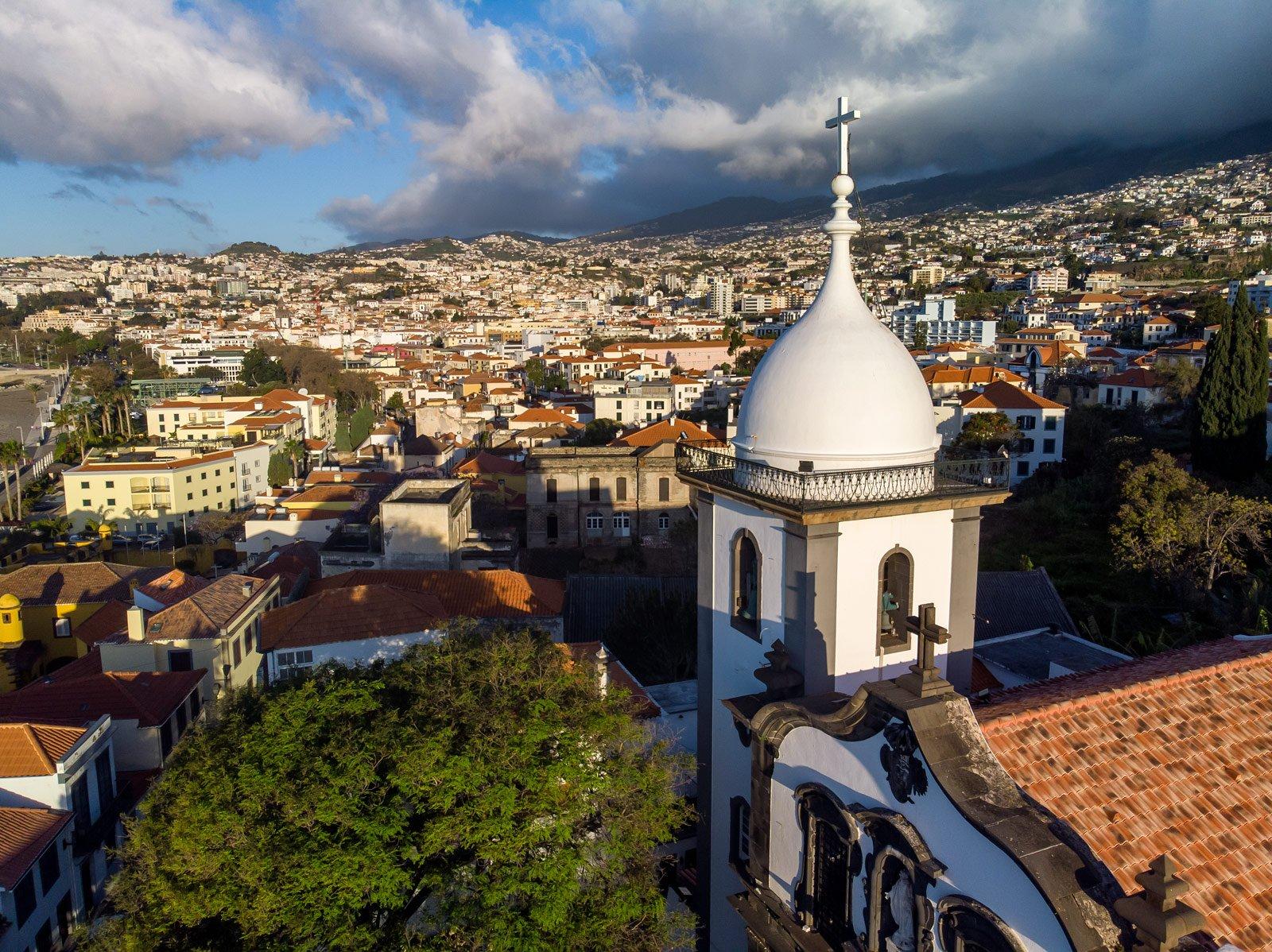 Poranek w Funchal
