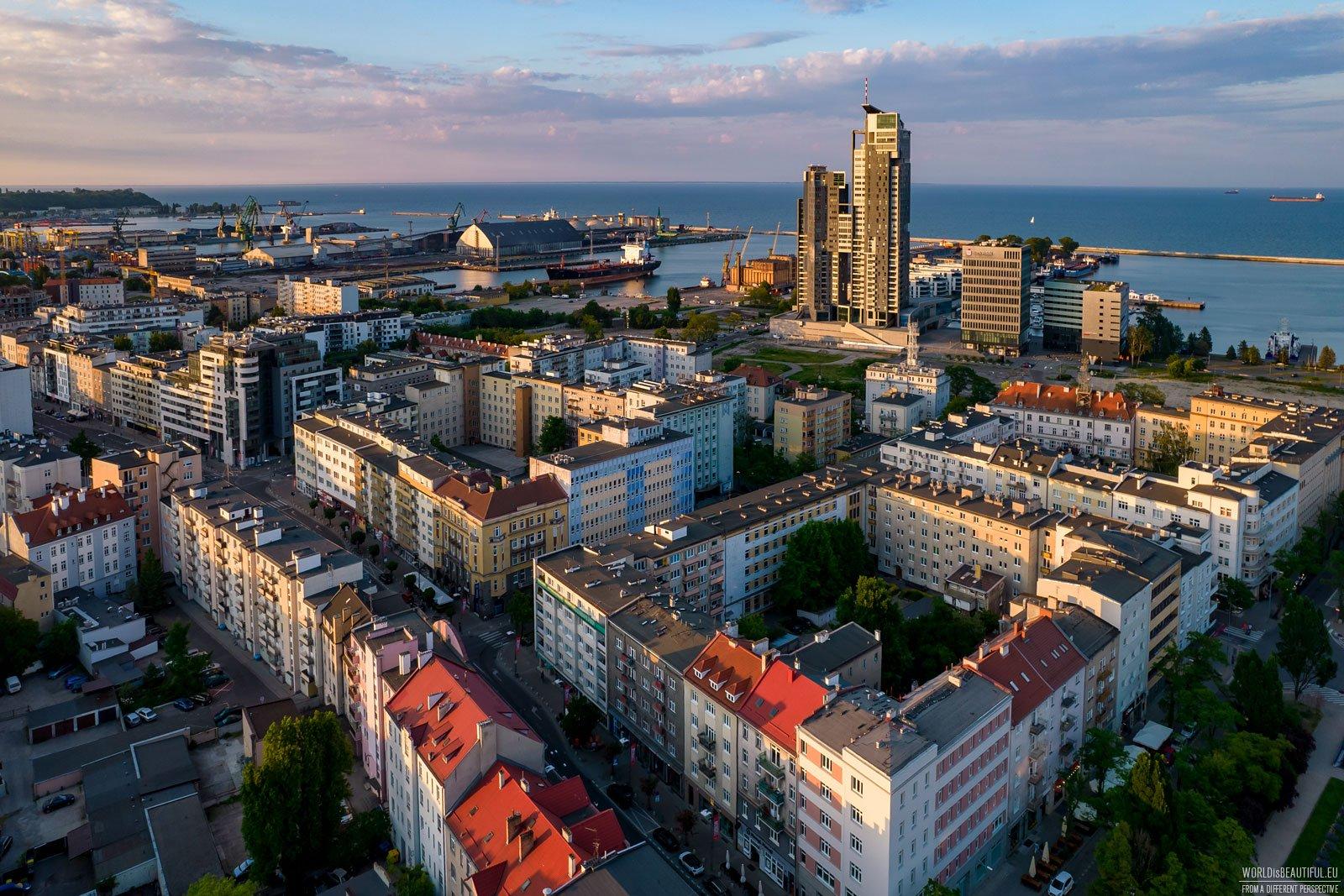 Gdynia - centrum miasta
