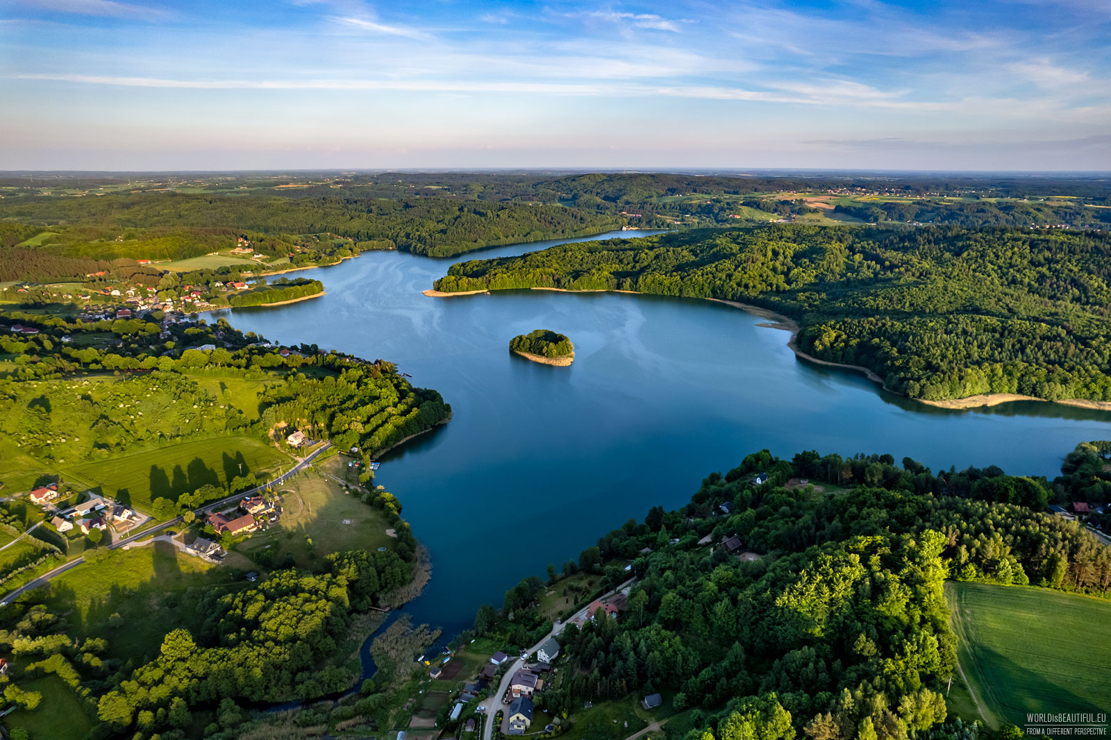 Beautiful lakes in Kashubia