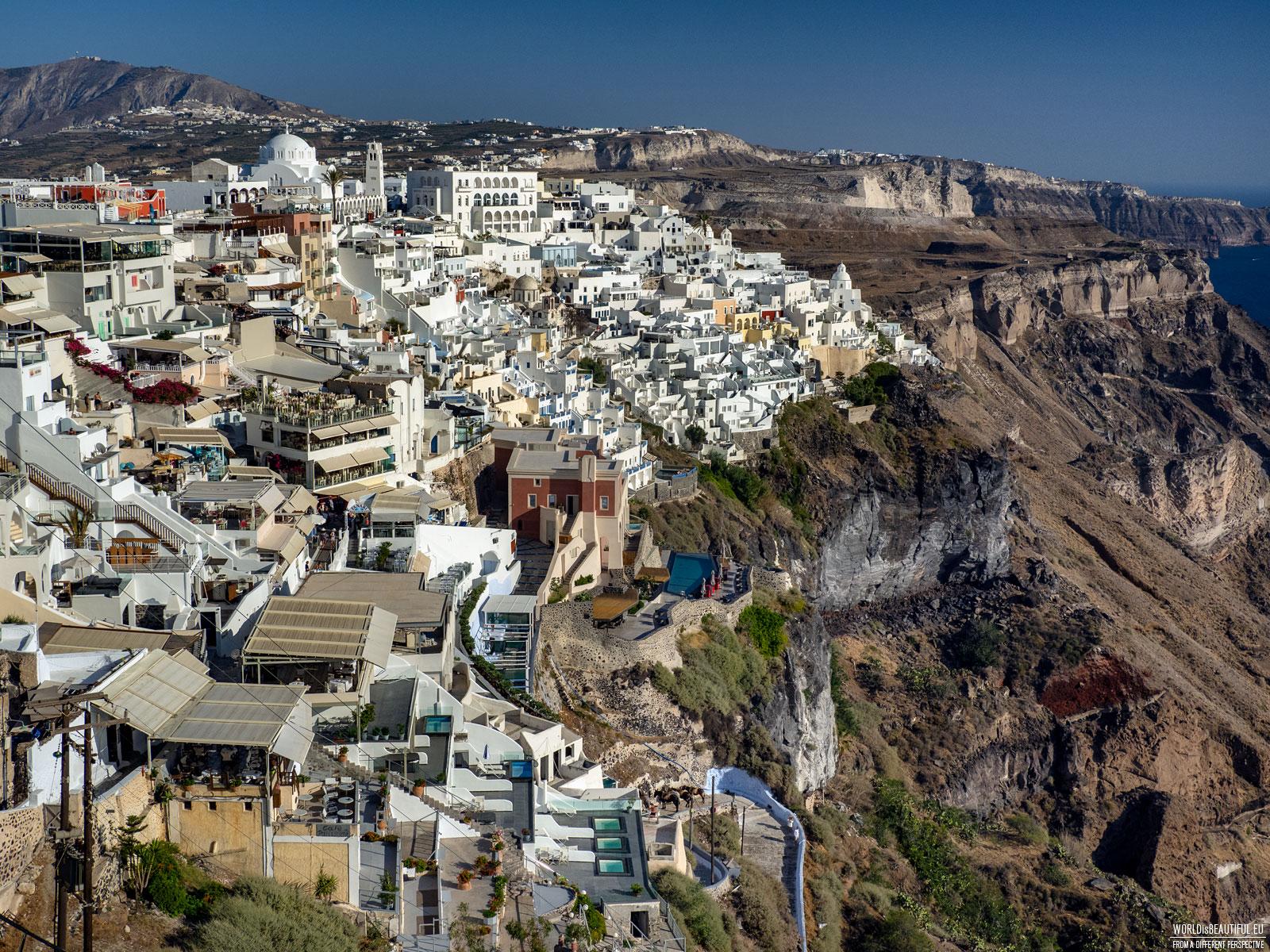 Fira - city panorama