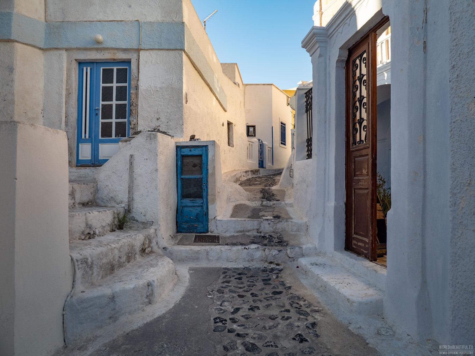 In a Greek maze