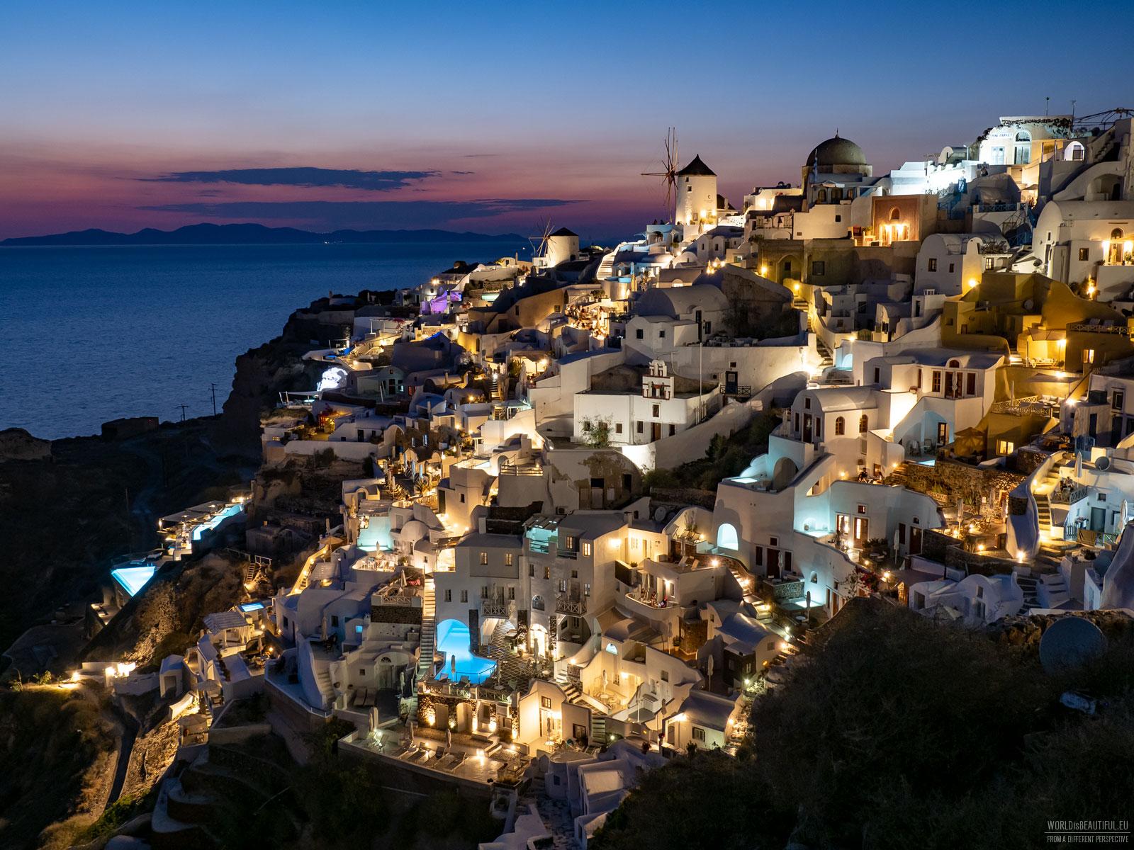 Pictures of Santorini