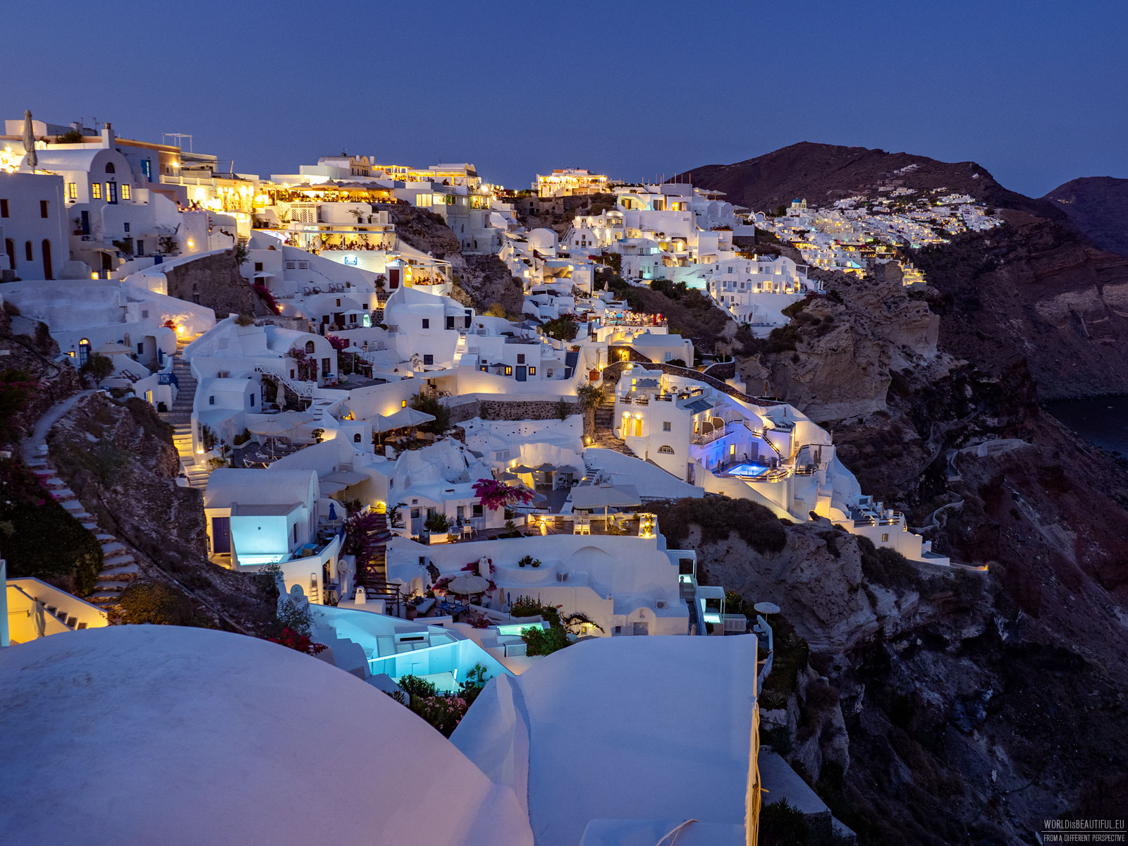 Evening in Oia