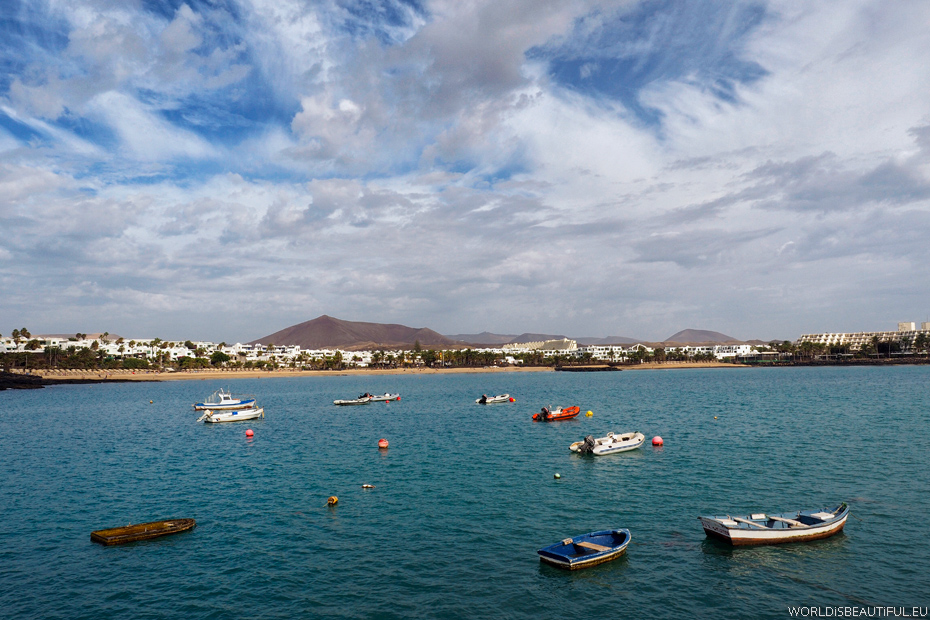 Playa de las Cucharas, Costa Teguise