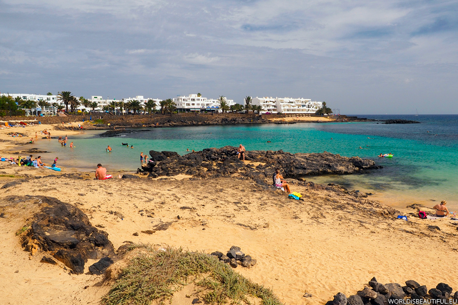Beaches in Costa Teguise