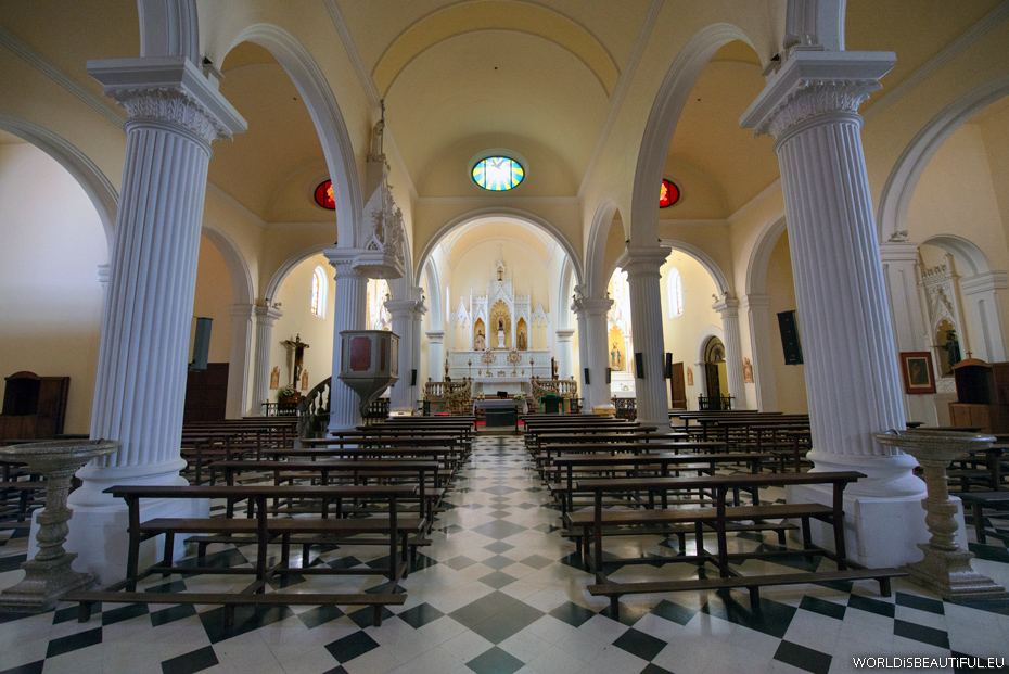 Teguise - Church inside