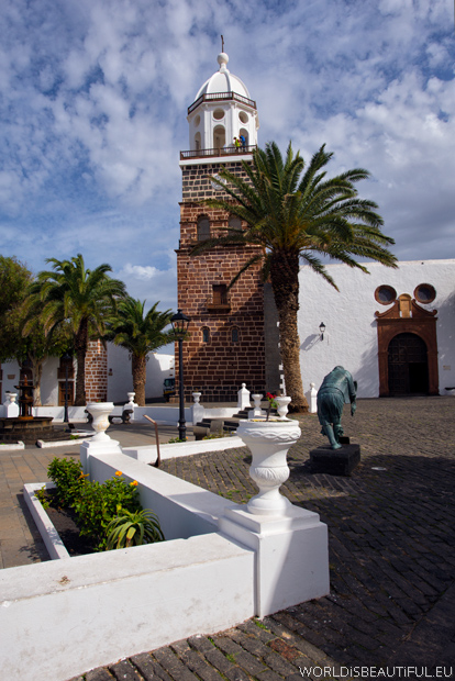 Teguise Church and bell tower