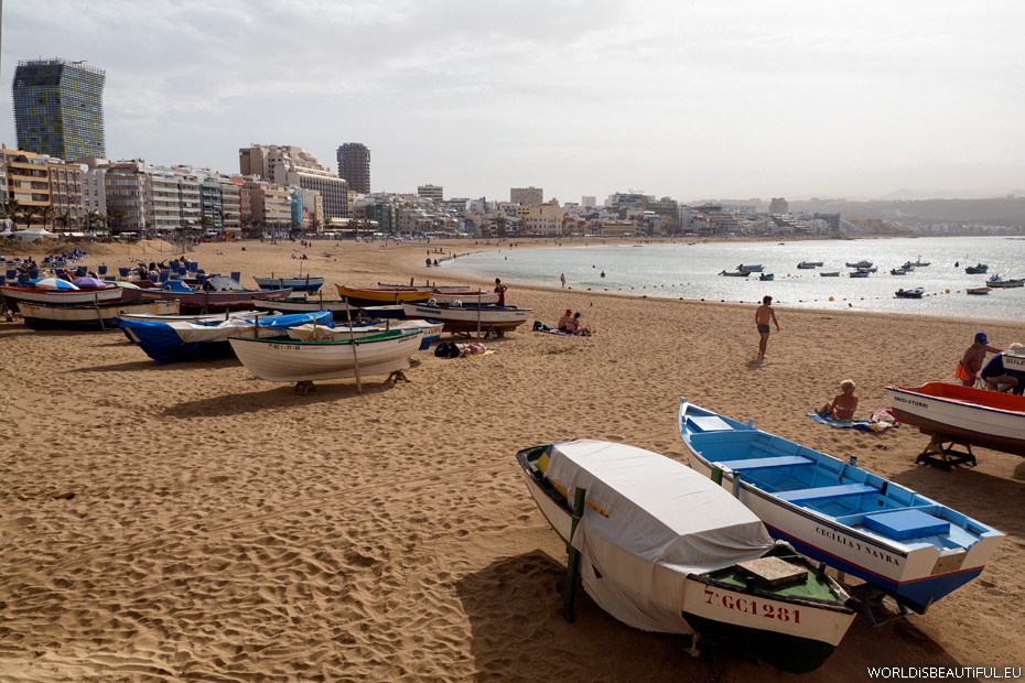 Plaża Las Canteras, Las Palmas
