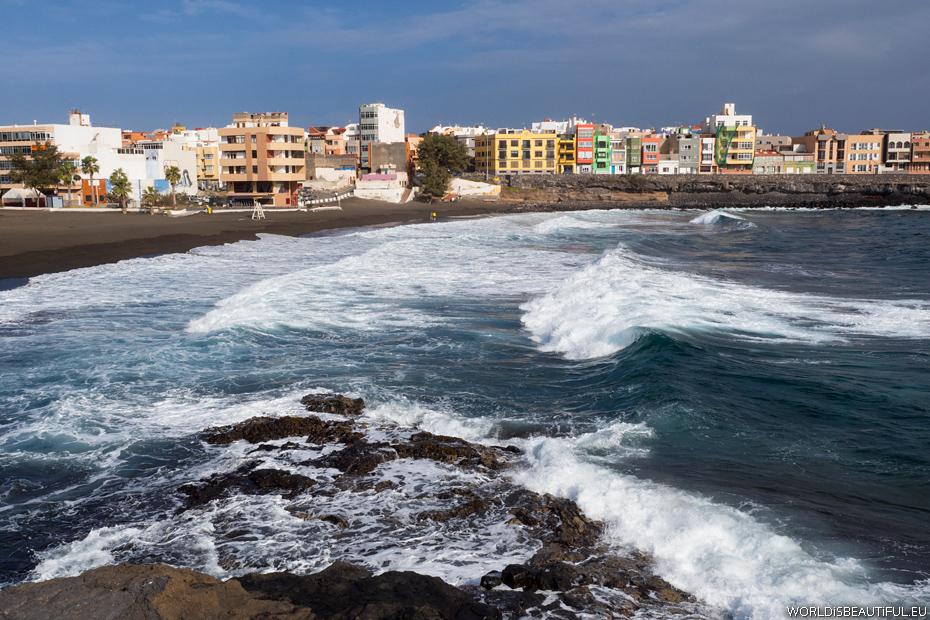 Plaża w Telde, Playa de la Garita
