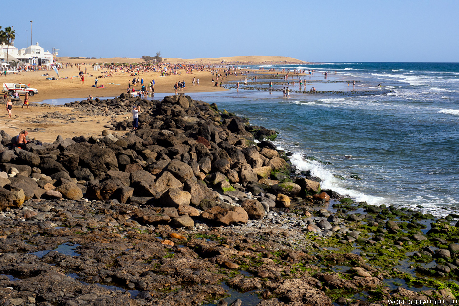 Beach in Maspalomas