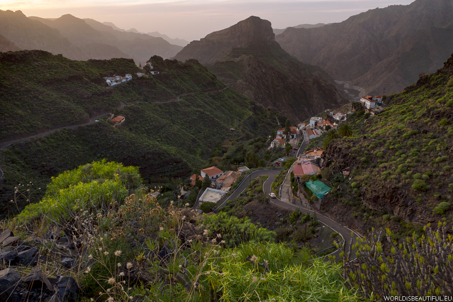 The views of Gran Canaria