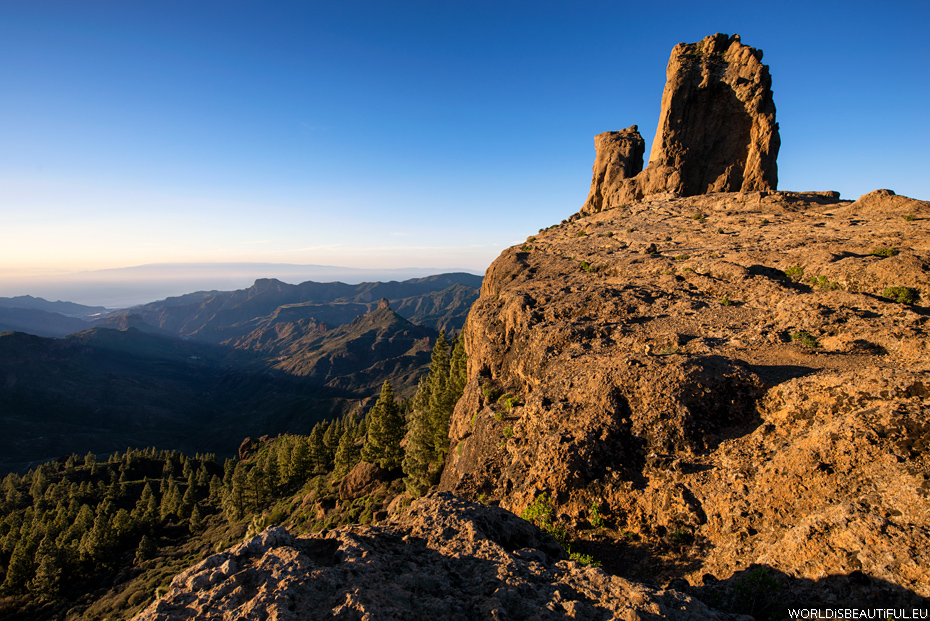 Landscapes from Roque Nublo
