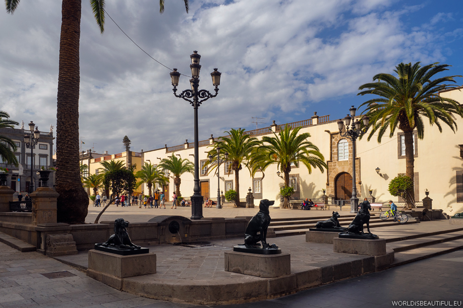 Plac Św. Anny w Las Palmas