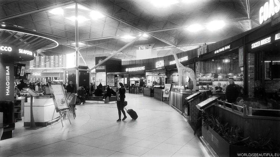 Lotnisko Londyn Stansted