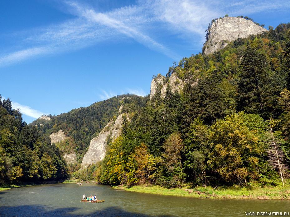 Spływ Dunajcem i Sokolica